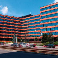 Здание, в котором расположен учебный центр