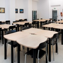 Учебная комната на первом этаже