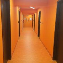 Один из цветных этажей